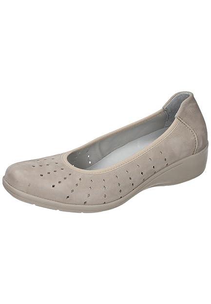 Comfortabel Damen-Slipper Beige 942189-8, Grösse 39