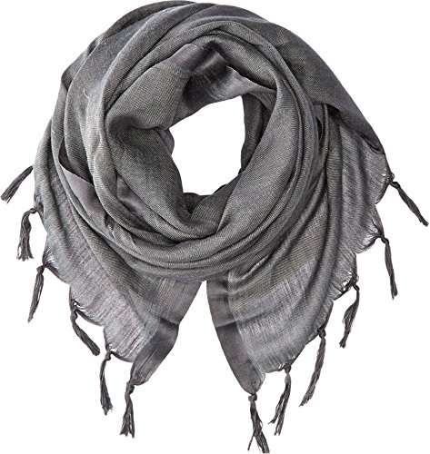 Love Quotes Womens Linen Tassel Scarf Charcoal Scarf One Size
