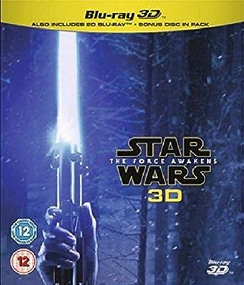 Amazon.com: Star Wars The Force Awakens (Blu-ray 3D) [Region ...