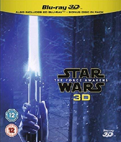 Star Wars The Force Awakens (Blu-ray 3D) [Region Free] (2019 Special Star Wars Christmas)