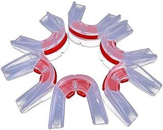 efbock Transparent Sports Gum Bouclier Garde Bouche Dents Protecteur pour Rugby Boxe 1pcs