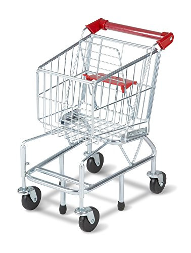 Melissa & Doug Toy Shopping Cart With Sturdy Metal - Shopping Worldwide