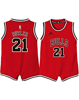 Chicago Bulls Infant adidas Jimmy Butler Red Replica Jersey Bodysuit 24 M