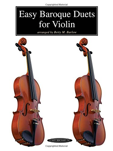Easy Baroque Duets for Violin Duets Violin