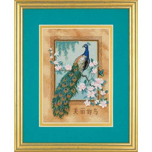 Dimensions Needlecrafts Counted Cross Stitch, Beautiful Bird (6870) - Beautiful Bird Counted Cross Stitch