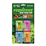 Luster Leaf 1601 Rapitest Soil KZKee Test Kit, 40 Count (2 Pack)