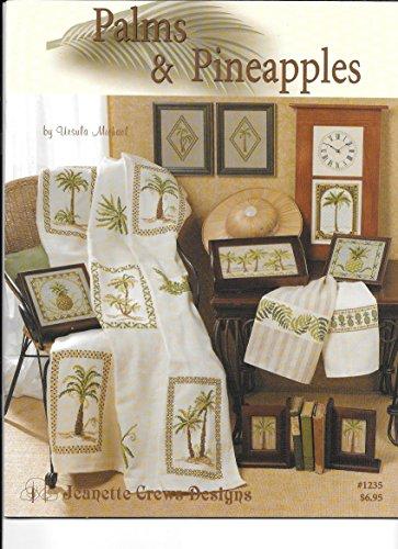 Cross Stitch Ursula Michael (Palms and Pineapples - Counted Cross Stitch)