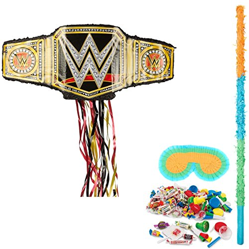 BirthdayExpress WWE Party Supplies Belt Pinata Kit by BirthdayExpress