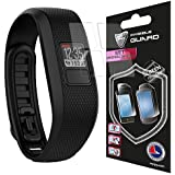 For Garmin Vivofit 3 Screen Watch (4 Units) Protector Skin Lifetime Replacements Anti - Bubble / Touch Responsive / Ultra HD Premium Shield Invisible Protection Anti Scratch By IPG