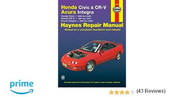 Honda Civic CRV Acura Integra 19942001 Larry Warren Alan – Integra Fu Box Wiring Diagram