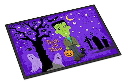 Caroline's Treasures Halloween Frankie Frankenstein Doormat, 24