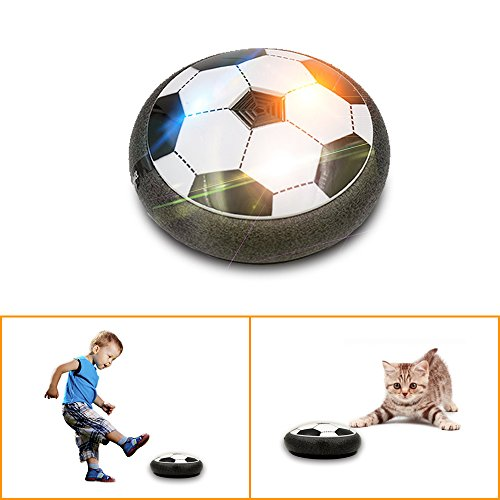 Svance Air Power Hover Ball Air Hockey Soccer Toys for Kids Playing Training and Exercise Soccer Indoor Ball(5.8 inch)