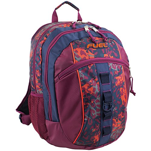 Fuel Active Backpack, Cranberry Cheetah
