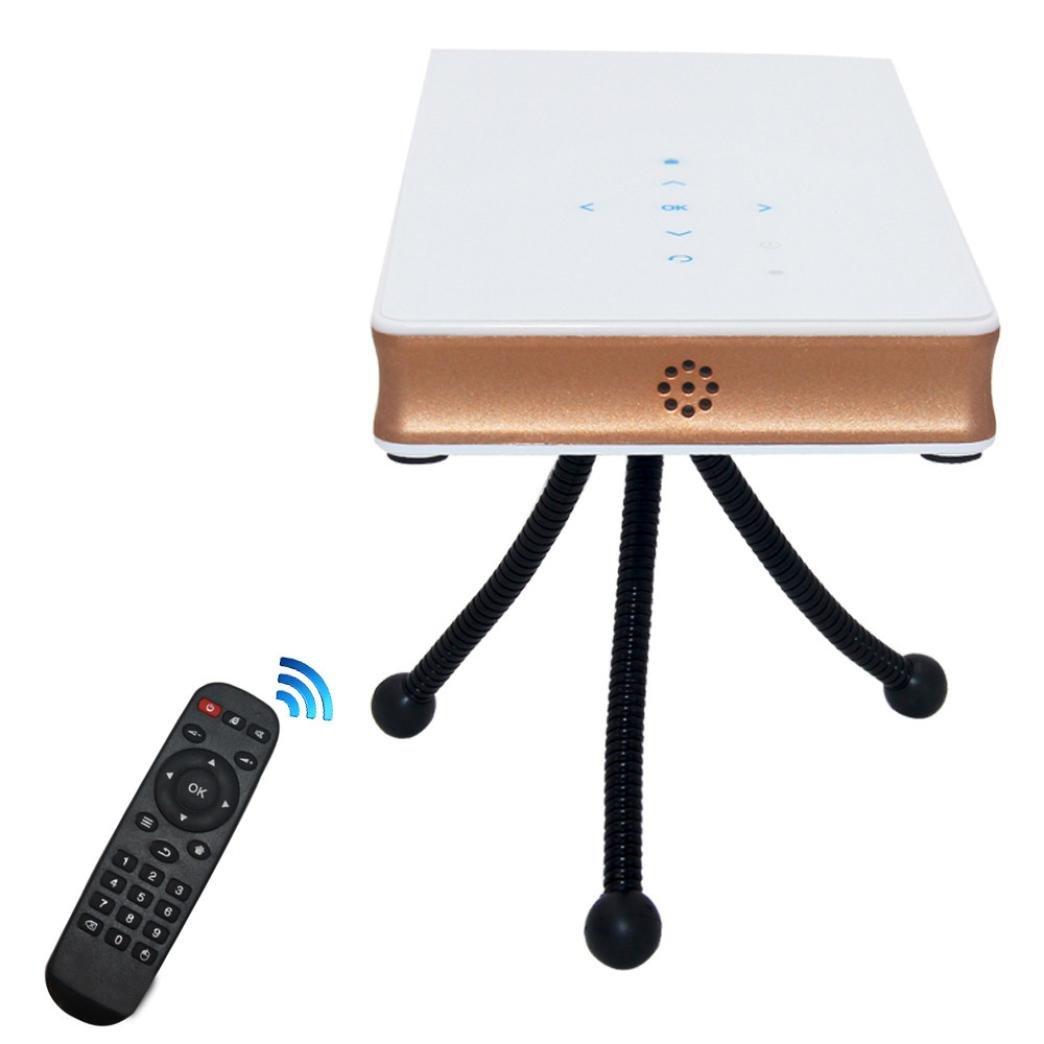 Proyector, Franterd Multimedia portátil DLP Mini Proyector HD ...