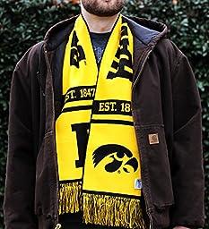 Iowa Hawkeyes Scarf - UI University of Iowa Classic