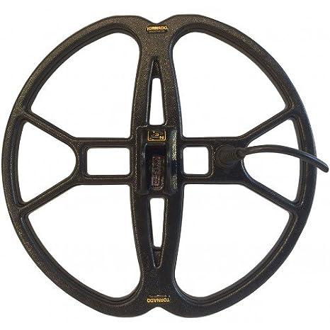 Nel Tornado - Placa de 30 cm x 33 cm para detector de metales y monedas de oro Garrett Serie Ace: Amazon.es: Deportes y aire libre