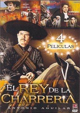 Amazon Com Antonio Aguilar El Rey De La Charreria 4 Pk 4 Peliculas Antonio Aguilar Movies Tv