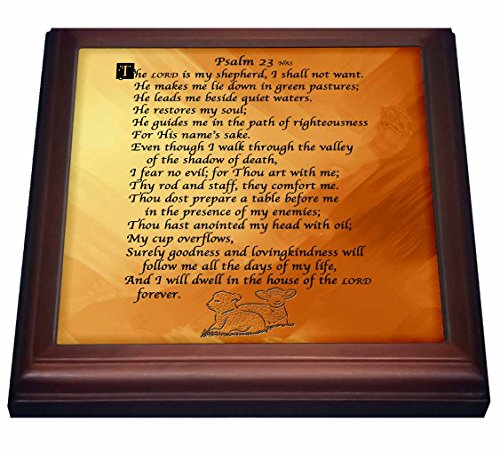 3dRose trv_58716_1 Psalm 23.
