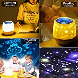 KISTRA Remote Star Projector Night Light for Kids
