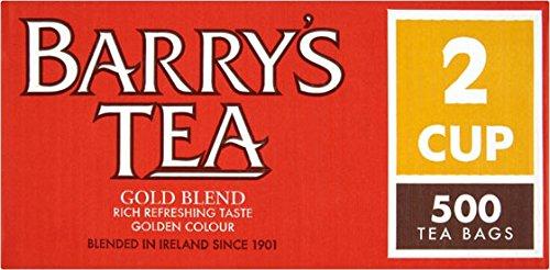 Barrys Gold Blend 500 x 2 cupTea Bags