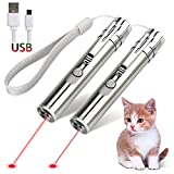 GO! Rechargeable Pet Training Exercise Chaser Tool, 3 Mode,Cat Light Toy
