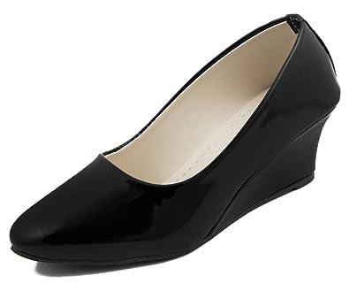 d4bb00b6612 Adjoin Steps Women s Black Formal Shoes - 37 EU  Buy Online at Low ...