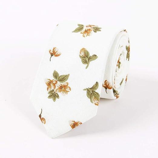 LUGEUK Corbata de impresión de algodón for Hombres Versión ...