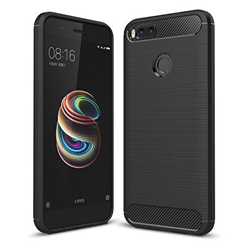 Funda Xiaomi Mi A1 Carcasa de Fibra de Carbono