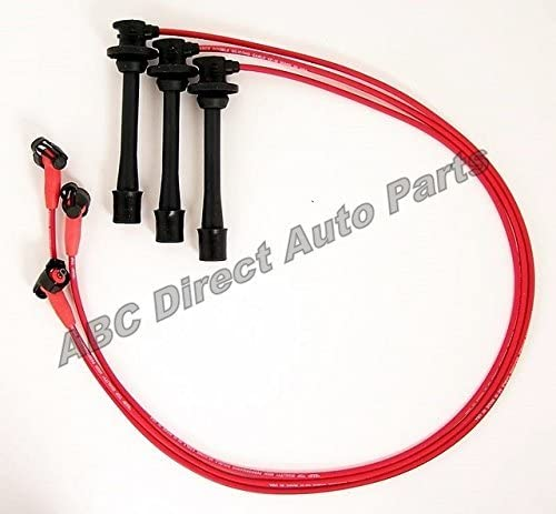BB Spark Plug Wire Set For 92-95 Toyota Tundra Tacoma 5MM Cable S6-23025