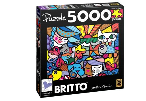 Romero Britto Garden Puzzle 5000 Pieces