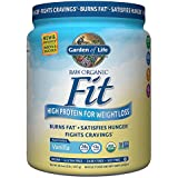 Garden of Life Organic Meal Replacement - Raw Organic Fit Vegan Nutritional Shake for Weight Loss, Vanilla, 16.1oz (1lb / 457g) Powder