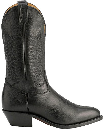 Bottes américaines - santiags: bottes country BO-9502-72-EEEEE (pied très fort) - Homme - Noir