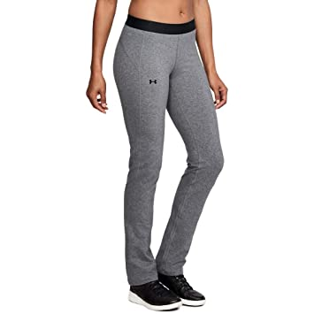 Under Armour Womens Favorite Straight Leg Pants, Charcoal ...