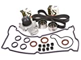 eagle talon timing cover - Evergreen TBK246VCT 95-99 Chysler Dodge Eagle Mitsubishi Plymouth 2.0 DOHC 420A Timing Belt Kit Valve Cover Gasket Water Pump