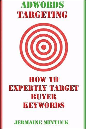 Amazon hørbare bog download Targeting Adwords Buyer Keywords by Jermaine Mintuck PDF FB2 iBook