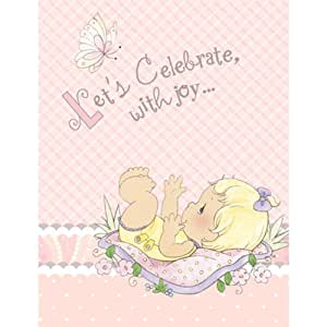 Amazon.com: Precious Moments Baby Shower Invitations