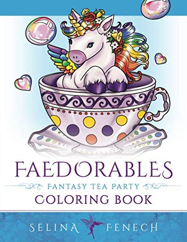 Faedorables Fantasy Tea Party (Fantasy Coloring by ()