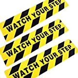 3Pack Watch Your Step Non-Slip Stair Warning