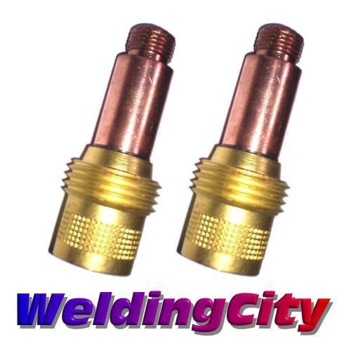 WeldingCity 2-pk Gas Lens Collet Body 45V25 (1/16