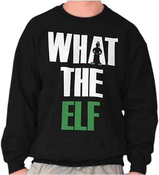 Christmas Holiday Crewneck Sweatshirt Santa Clause