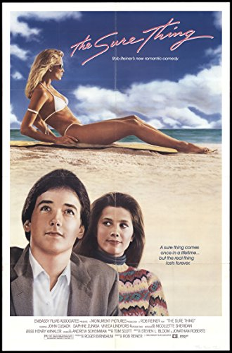 the-sure-thing-1985-original-movie-poster-comedy-drama-romance-dimensions-27-x-41