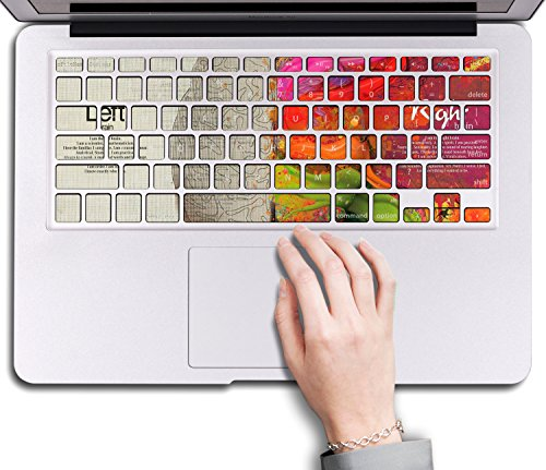 Herngee Left And Right Brain MacBook Keyboard Decal
