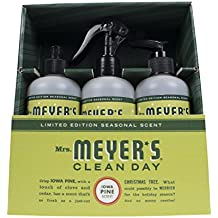 Mrs. Meyer's Clean Day Kitchen Basics Set, Iowa Pine, 3 ct: Dish Soap (16 fl oz), Hand Soap (12.5 fl oz), Multi-Surface Everyday Cleaner (16 fl oz)