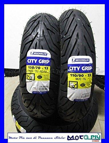 COPPIA GOMME MICHELIN CITY GRIP 110//90-13 130//70-13 SUZUKI BURGMAN 250 400