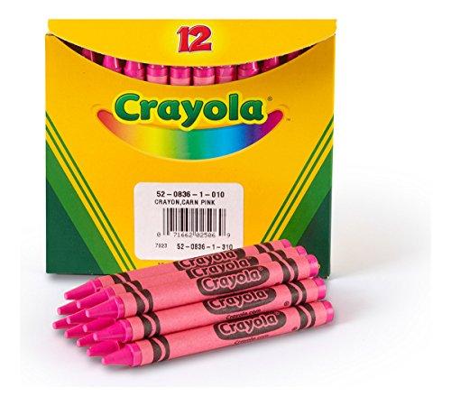 Crayola Bulk Crayons, Regular Size - Carnation Pink (52-0836-010)