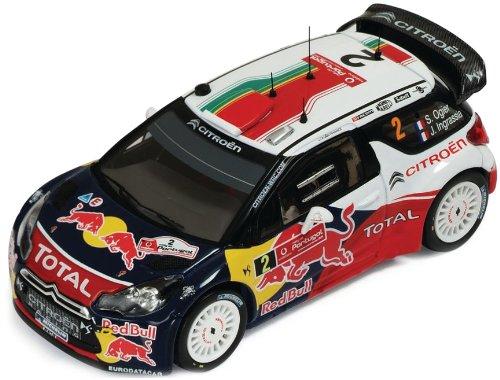 1/43 シエトロンDS3 WRC 2011年ラリー・ポルトガル優勝 #2 ドライバー:S.Ogier/J.Ingrassia RAM474