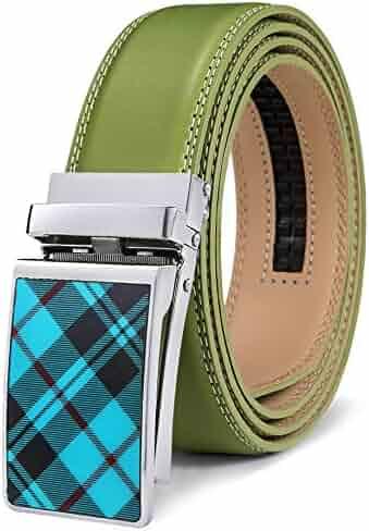 a74da33855894 Mens Belt,Bulliant Designer Solid Click Belt For Men,Genuine Leather, Size-