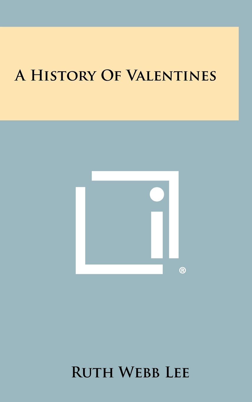 Download A History Of Valentines pdf epub