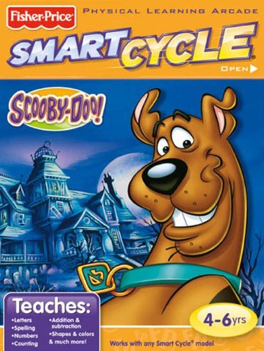 (Fisher-Price Smart Cycle [Old Version] Scooby Doo Software Cartridge)