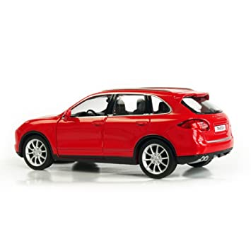 RMZ City 1:32 Porsche Cayenne TURBO Diecast Die Cast Car Model Toy Car Red